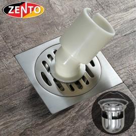 Phễu thoát sàn, máy giặt chuyên dụng Zento TS126 Double (118x118mm)